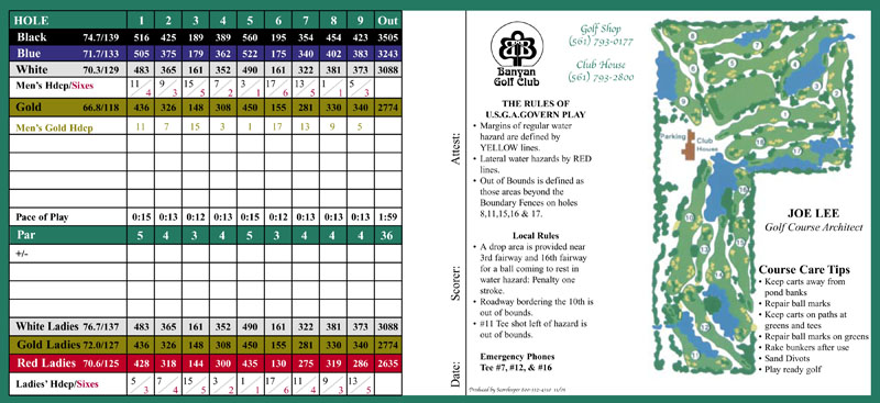 golf scorecards custom golf scorecards design golf scorecards printing golf score cards samples. Black Bedroom Furniture Sets. Home Design Ideas